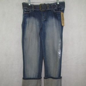 DKNY Jeans Size 4 Stretch Low Rise Straight Leg
